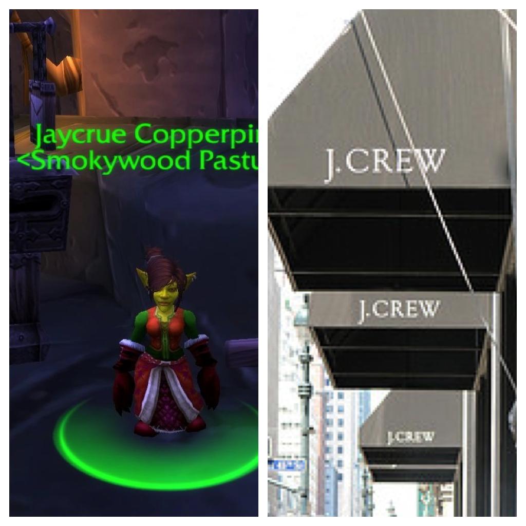 Jaycrue:J Crew